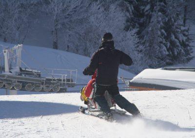 Sortie tandem ski